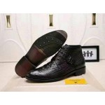 Louis Vuitton Pure Leather Boots