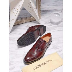 Louis Vuitton Brown Leather Shoe