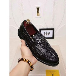 Louis Vuitton Quality Leather Dress Shoe