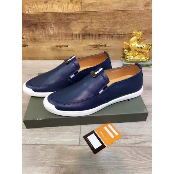 BALLY ROCA BLUE SNEAKERS