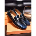 BLUE-BLACK STYLED TOD'S