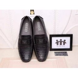 Gucci Sleek Black Loafers