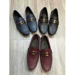 Louis Vuitton Simple Design Loafers