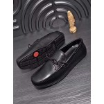 Tods Black Quality Leather Loafers