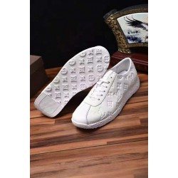 Embossed Design Louis Vuitton High-kicks