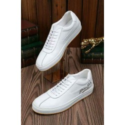 White Philip Plein Sneakers