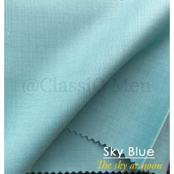 Sky blue fashion fabric (BY THE YARD)