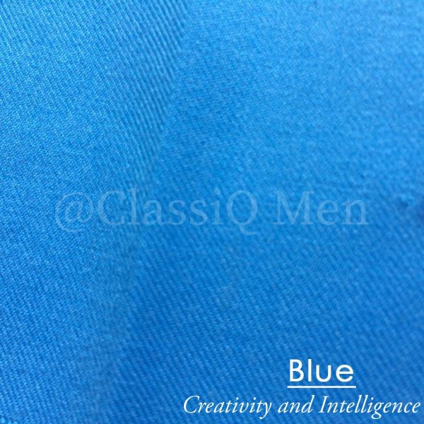 Blue fashion fabric (BY THE YARD)