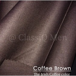 Coffee brown fashion fabric (BY THE YARD)
