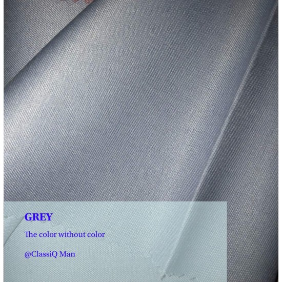 Grey fashion fabric (BY THE YARD)