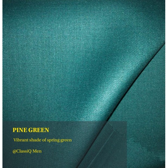 Pine green fashion fabric (BY THE YARD)