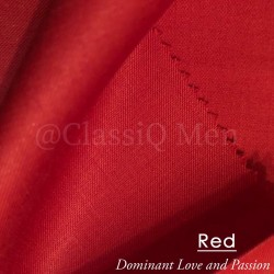 Red fashion fabric (BY THE YARD)