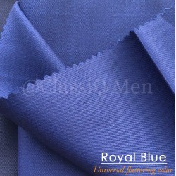 Royal blue fashion fabric (BY THE YARD)