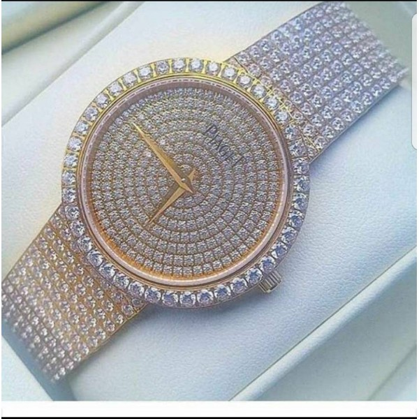 Piaget diamond encrusted watch
