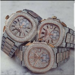 Patek Philippe diamond encrusted watch