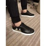 D&G Black and White Sneakers